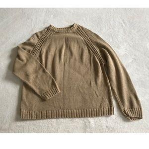 Woolrich tan sweater